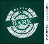 bark chalkboard emblem written... | Shutterstock .eps vector #1227779893