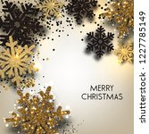 merry christmas  greeting... | Shutterstock .eps vector #1227785149