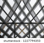 bottom view of industrial or... | Shutterstock . vector #1227794353