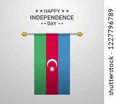 azerbaijan independence day... | Shutterstock .eps vector #1227796789