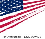 american flag background.usa... | Shutterstock .eps vector #1227809479