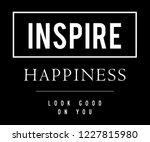 fashion slogan t shirt   Shutterstock .eps vector #1227815980