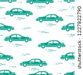 taxi pattern. design for... | Shutterstock .eps vector #1227822790