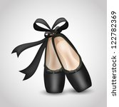illustration of realistic black ... | Shutterstock .eps vector #122782369