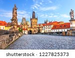Famous Charles Bridge Over The...