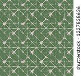 japanese kimono vector seamless ... | Shutterstock .eps vector #1227838636