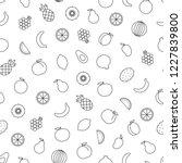 vector seamless pattern of... | Shutterstock .eps vector #1227839800