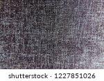 closeup black color synthetic...   Shutterstock . vector #1227851026
