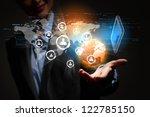 modern wireless technology and...   Shutterstock . vector #122785150