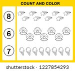 count and color illustration... | Shutterstock .eps vector #1227854293