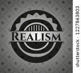 realism black badge   Shutterstock .eps vector #1227863803