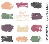 grunge brush stroke texture... | Shutterstock .eps vector #1227871330