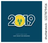 2019 saint vincent and... | Shutterstock .eps vector #1227875416
