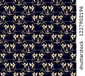 seamless vector pattern from... | Shutterstock .eps vector #1227903196