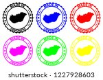 made in hungary   rubber stamp  ...   Shutterstock .eps vector #1227928603
