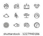 auto service icon. set of line... | Shutterstock .eps vector #1227940186