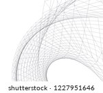 architectural drawing.... | Shutterstock .eps vector #1227951646
