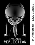 operation reflection poster... | Shutterstock .eps vector #1227968089