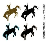 adult,animal,art,athlete,background,black,bucking,cattle,clip art,cowboy,danger,extreme,game,graphic,hat