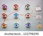 Nine Cute Little Bird House On...