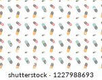 pattern of the tablet. topic... | Shutterstock .eps vector #1227988693