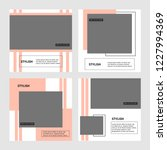 modern promotion square web... | Shutterstock .eps vector #1227994369