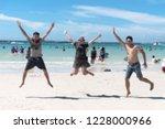 blur defocused background of...   Shutterstock . vector #1228000966