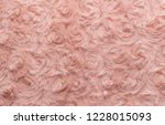 pink natural wool with twists... | Shutterstock . vector #1228015093