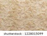 beige natural wool with twists... | Shutterstock . vector #1228015099