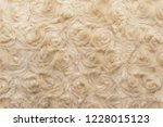 beige natural wool with twists... | Shutterstock . vector #1228015123