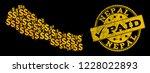 Golden Combination Of Dollar...