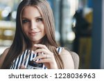 portrait of a young smiling... | Shutterstock . vector #1228036963