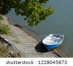 fishing boat at the shore of...   Shutterstock . vector #1228045873