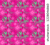 seamless background pattern...   Shutterstock . vector #1228046860