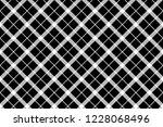 classic monochrome pixel tartan ... | Shutterstock .eps vector #1228068496