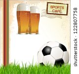 sports cafe background | Shutterstock .eps vector #122807758