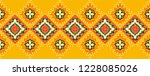 ikat geometric folklore...   Shutterstock .eps vector #1228085026
