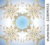 sacred geometric vector symbol... | Shutterstock .eps vector #1228090513