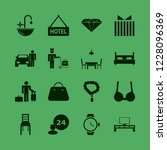 luxury icon. luxury vector... | Shutterstock .eps vector #1228096369
