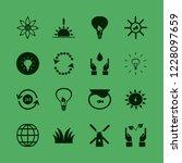 environment icon. environment... | Shutterstock .eps vector #1228097659