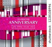 celebration background design... | Shutterstock .eps vector #1228108996