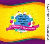 celebration background design... | Shutterstock .eps vector #1228108999