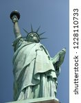 statue of liberty in new york ... | Shutterstock . vector #1228110733
