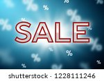 sale concept banner | Shutterstock .eps vector #1228111246