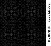 ethnic pattern. tribal motif.... | Shutterstock .eps vector #1228121086