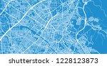 urban vector city map of... | Shutterstock .eps vector #1228123873