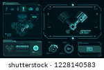 interface  engine piston ... | Shutterstock .eps vector #1228140583