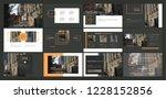 presentation template. elements ... | Shutterstock .eps vector #1228152856