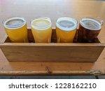 craft beer varietal tasting... | Shutterstock . vector #1228162210