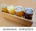 craft beer varietal tasting... | Shutterstock . vector #1228162213